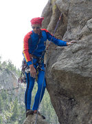 Rock Climbing Photo: Spandex and Traddie Day - Nick finding that Spande...