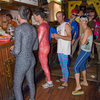 Spandex and Traddie Day - One of the few places you can get away ordering your meal like this!