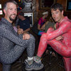 Spandex and Traddie Day - Mark and Tony: Sock modeling?