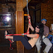 Rock Climbing Photo: Spandex and Traddie Day - Stef's pole dancing adve...