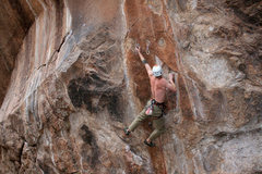 """Rock Climbing Photo: stickin the """"crux""""... well at least one ..."""