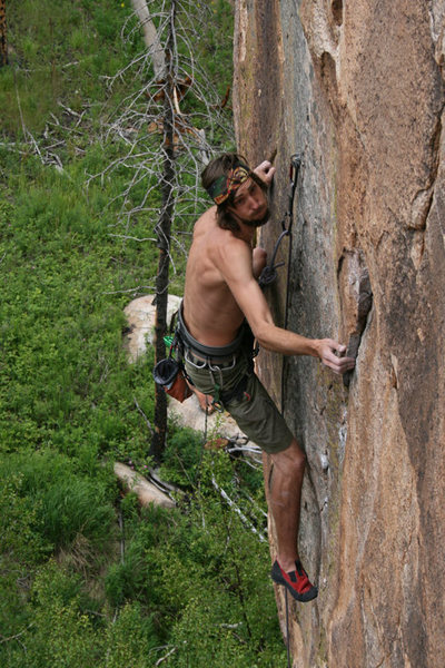 Rock Climbing Photo: Yeah, the face says it all....