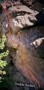 "Rock Climbing Photo: Photo beta for ""Double Socket."""