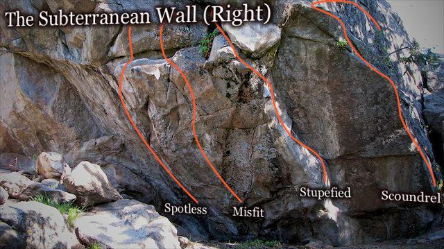 "Photo beta for ""Subterranean Wall (Right)."""