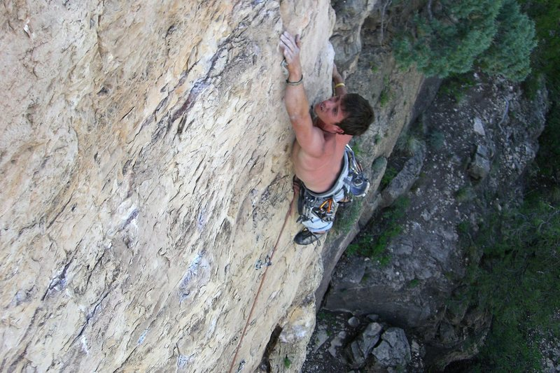 Rock Climbing Photo: Dan