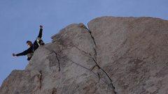 Rock Climbing Photo: Warmer up top, in the sun, though.