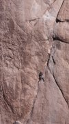 Rock Climbing Photo: Our inspiration on Illusion Dweller.