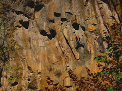 Rock Climbing Photo: Dan Foster onsighting the second ascent of Death a...