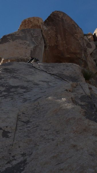 Rock Climbing Photo: One of those lovely easy climbs after blowing my f...