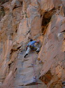 Rock Climbing Photo: Brother of Fortune moves one more up from where I ...