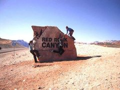 Rock Climbing Photo:  Red Rocks, Nevada