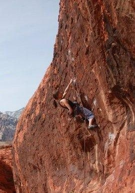 Rock Climbing Photo: Range of Motion, Red Rocks 10d