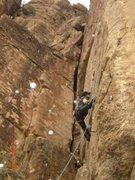 Rock Climbing Photo: Shelf Road, Cactus Cliff, Tool Boy 11d/12a