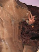 Rock Climbing Photo: big bend boulders, moab, just playing around