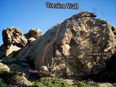 "Rock Climbing Photo: Photo beta for 'Conception Liquid."""