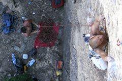 Rock Climbing Photo: Zack and Dan