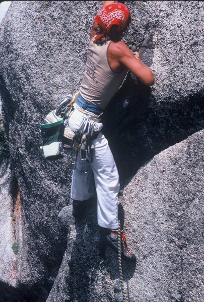 Rock Climbing Photo: The FA of Pilz Grind Waterfall Dome