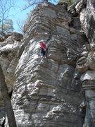 Rock Climbing Photo: Patrick Hines on Howdy Dude.