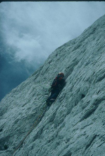 Rock Climbing Photo: Freezing on Pitch #3