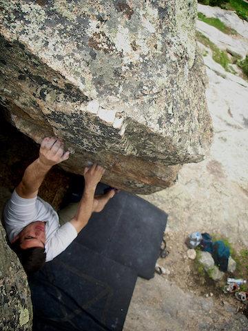 "Rock Climbing Photo: John Morgan on ""Marry Ann"" Gilligan's Is..."