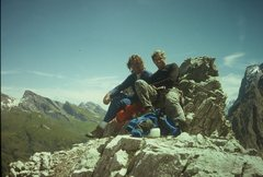 Rock Climbing Photo: Switzerland 1993
