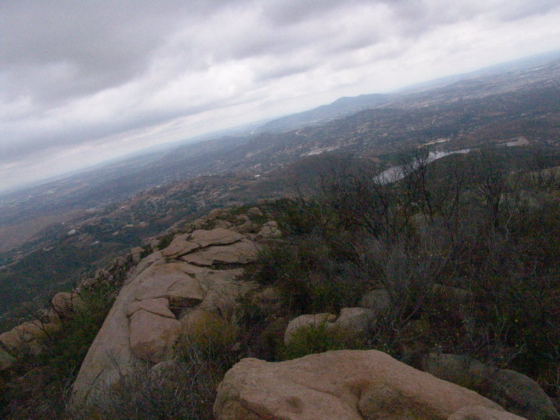Rock Climbing Photo: view from top