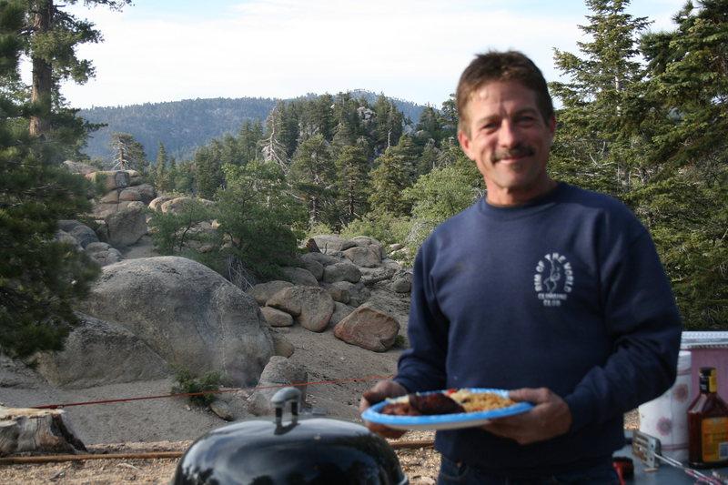 our chef & grill master, Melon