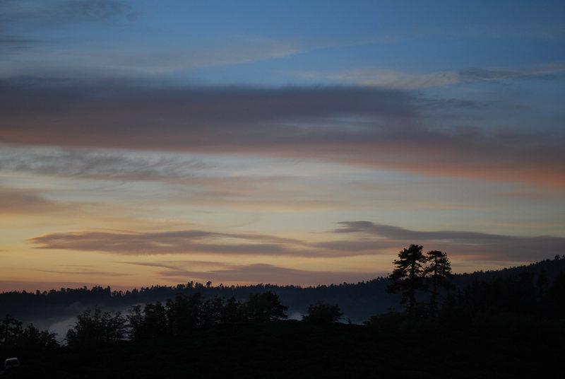 Kellar Peak before sunset<br>