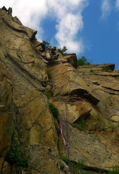 First First Ascent: the crux