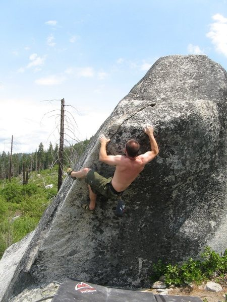 Rock Climbing Photo: Nearing the finish on a rather entertaining route.