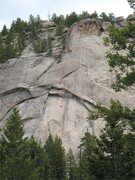 Rock Climbing Photo: Not that route finding is any kind of challenge on...