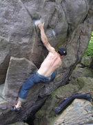 Rock Climbing Photo: The sloper.