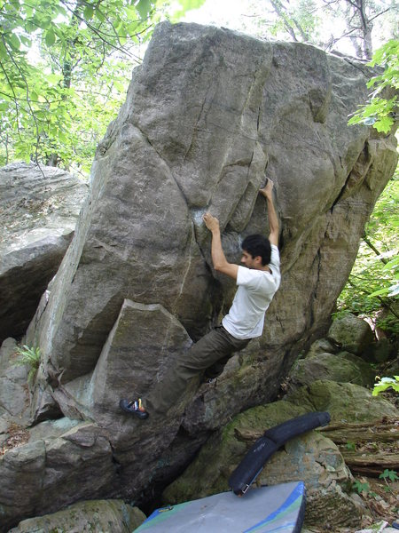 Rock Climbing Photo: RV looking strong.