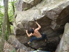 Rock Climbing Photo: Fun problem.