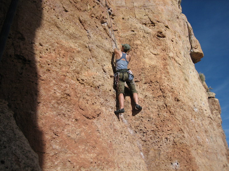 Rock Climbing Photo: Shelf Road - Cactus Cliff
