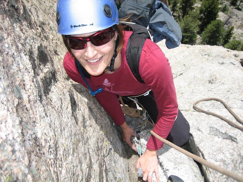 Rock Climbing Photo: Finally done - Lumpy ridge