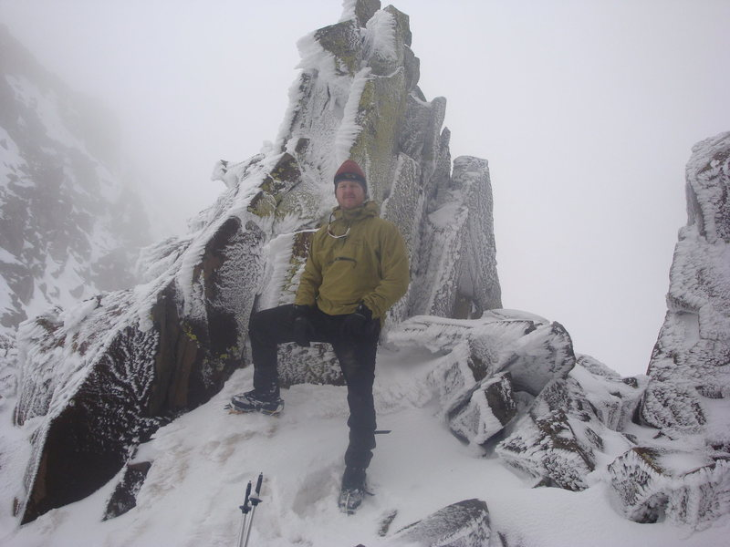 Me at the saddle