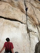 Rock Climbing Photo: Waiting our turn for Doublecross; the Fireman made...
