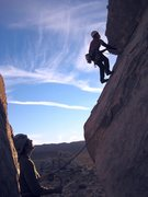 Rock Climbing Photo: A guide, and his client.  Route: SW Corner on Head...