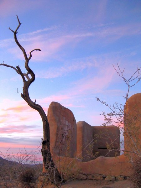 Rock Climbing Photo: Hanging out to see the sunset.