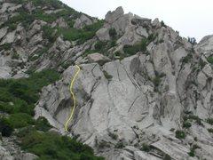 Rock Climbing Photo: Cracked Egg on The Egg