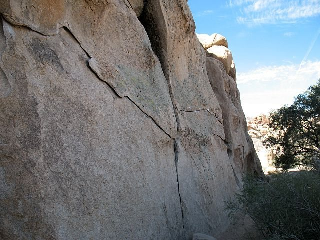 A portion of the Intersection Traverse (V1), Joshua Tree NP<br>
