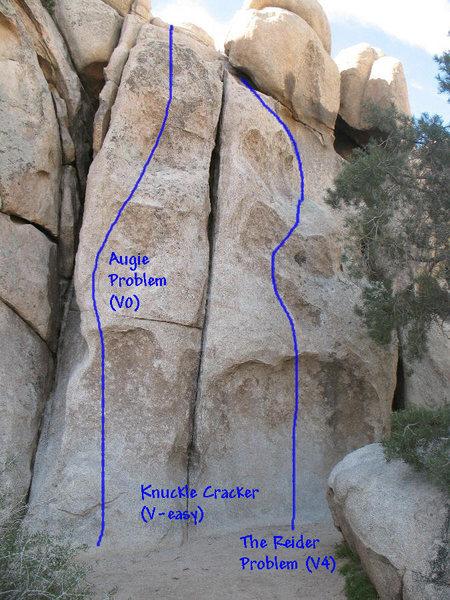 Rock Climbing Photo: Intersection Rock, Joshua Tree NP  1. Augie Proble...
