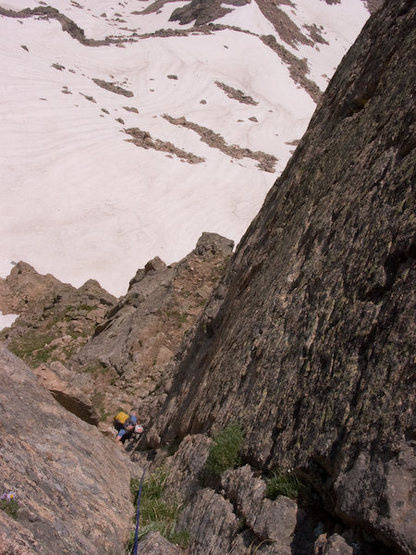 Looking down the last half of P3.  Bhoto by Brian Kraus.