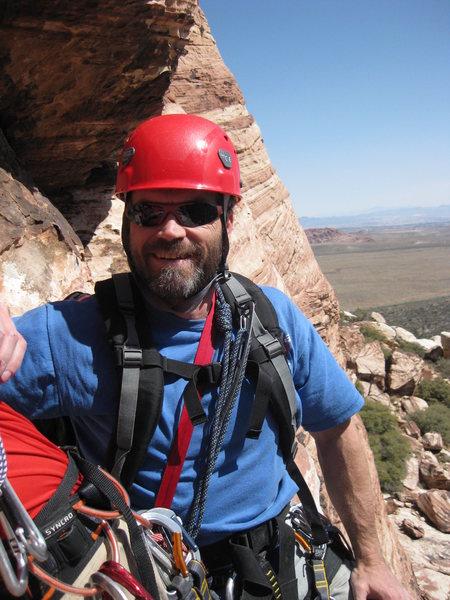 Rock Climbing Photo: Graham in Red Rock Canyon, NV