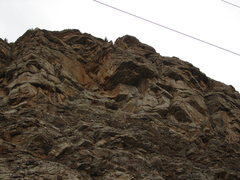 Rock Climbing Photo: Mourning Glory as seen from north side of Tunnel 5...