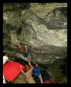 Rock Climbing Photo: green mnt gringo