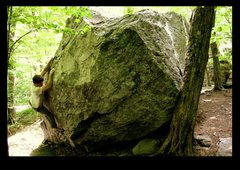 Rock Climbing Photo: primate