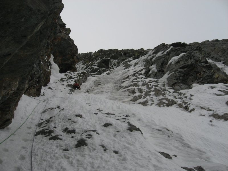 Rock Climbing Photo: Middle pitch