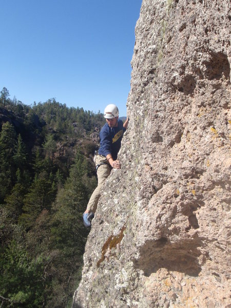 Rock Climbing Photo: Basaseachi rancho San Lorenzo